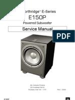 JBL E150P Service Manual
