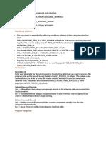 Interface Asignación de Categorías ITEMS