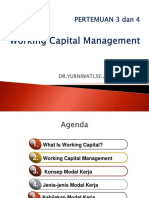 3-4. Working Capital Management