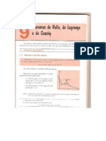 Teorema de Rolle, de Lagrange e de Cauchy