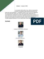 Amazon Company profile