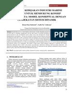 Strategi Kebijakan Industri Marine Politan untuk Mendukung Konsep Mamminasata Model Konseptual dengan Pendekatan Sistem Dinamik.pdf