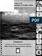 Guides to the Freshwater Invertebrates of Southern Africa Volume 2 - Crustacea I