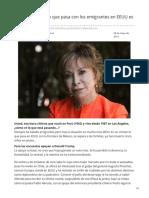 Elmundo.es-isabel Allende Lo Que Pasa Con Los Emigrantes en EEUU Es Un Crimen