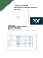 User Manual Penginputan GDP