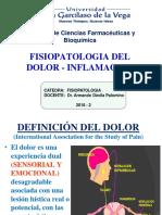 4°SEM FISIOPATOLOGIA DOLOR-INFLAMACION ADP- 2018-2