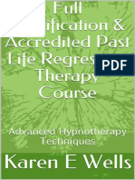 Karen E. Wells - Full Certification & Accredited Past Life Regression Therapy Course_ Advanced Hypnotherapy Techniques (2018)