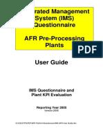 Ims Afr User Guide