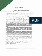 Original EAC Treaty 1967