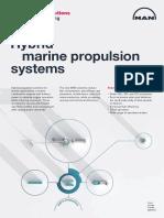 MAN marine propulsion systems