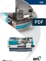 Torni Paralleli CNC - CKE