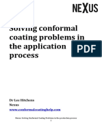 Solving Conformal Coating Problems in the Application Process