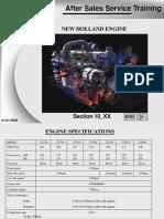 Тренинг Cnh Двигатель, Последняя Версия, 54 Слайда, Англ.