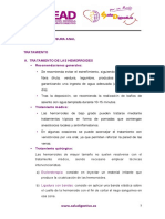 D Tratamiento Hemorroides y Fisura Anal