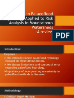 Group 3 Challenges in Paleoflood Hydrology Applied to Risk Analysis