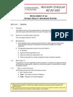 Ac 00-002 Quality Assurance Caap a2011