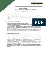 1433-Solucionario 3° J.E.G. Presencial-Biología 2019
