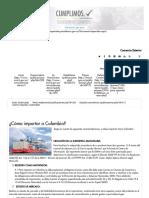 ¿Cómo Importar a Colombia