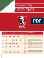 Kfc Libro Ingredienti