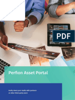 Perfion Asset Portal - Easily share your media with partners or other third-party users