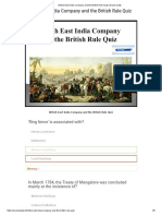 British East India Company and the British Rule Quiz _ Exams Daily.pdf