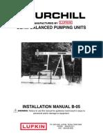 Manual de manutenção e Operação de Unidades de Bombeio Lufkin Churchill