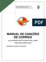 Manual de Canções Militares Para Deslocamentos de Pelotão