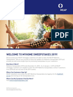 MCAP My Home Sweepstakes