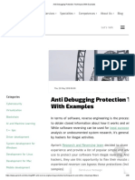 Anti Debugging Protection Techniques With Examples.pdf
