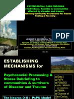 Part 2- Establishing Mechanisms for Comm Trauma Healing- Dec 15, 2013