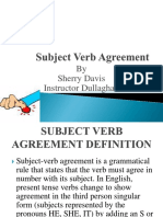 2.7 Subject Verb Agreement 2
