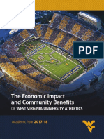 Tripp Umbach WVU Athletics Economic Impact
