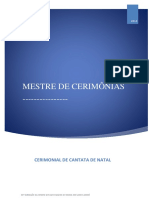 Cerimonial - Cantata de Natal