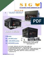 SIG Pulse Sparker&Boomer Energy Sources