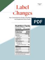 Watson Inc. - Label Changes Rev. 2019