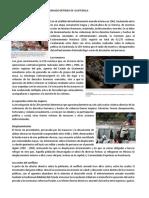 Consecuencias Del Conflicto Armado Interno de Guatemala