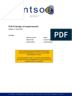 FCR-D Design of Requirements