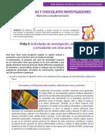 Ficha-5 Pantuflas y Chocolate