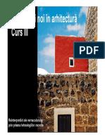 T3. Reinterpretari Ale Arhitecturii Vernaculare Prin Prisma Tehnologiilor Recente