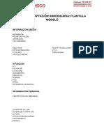 Ficha Captacion Inmobiliaria Plantilla Modelo