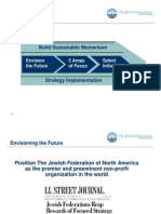 Jewish Federations of North America - Five Areas of Focus