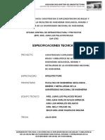 Especificacioens Tecnicas de Aruitectura 20072010