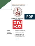 Informe Visita Tecnica Cementos Inka