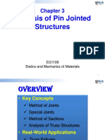 3 Analysis of Pin Connected Structures