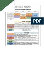 Agenda Semanal _ atividades Morumbi