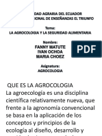 AGROCOLOGIA