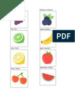 20 Frutas en Ingles Qeqchi