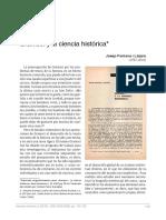 Gramsci y la ciencia histórica