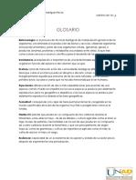 Glosario Unidad 3- Isabel Rodriguez R
