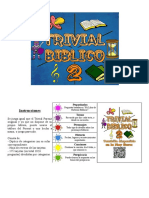 Tarjetas Trivial Bíblico